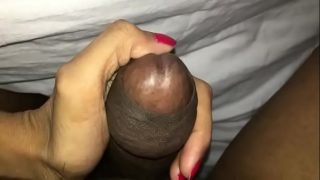 my wife blowing her friend